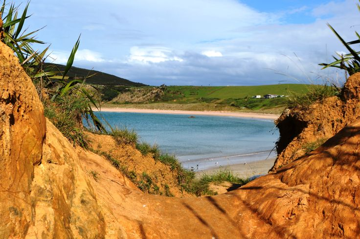 A glimpse of Matai Bay on a clear, warm day. A little piece of paradise on the North Island of New Zealand.