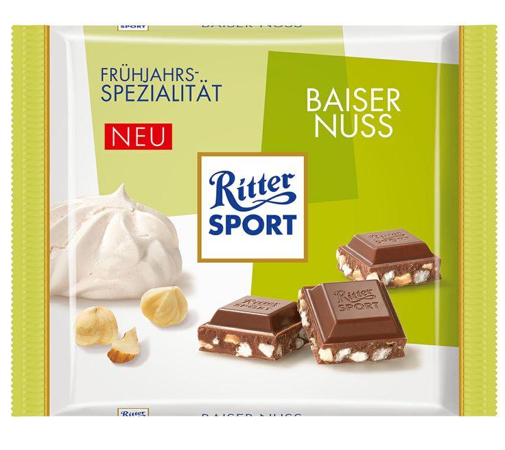 RITTER SPORT Frühlingssorte Baiser Nuss (2014)