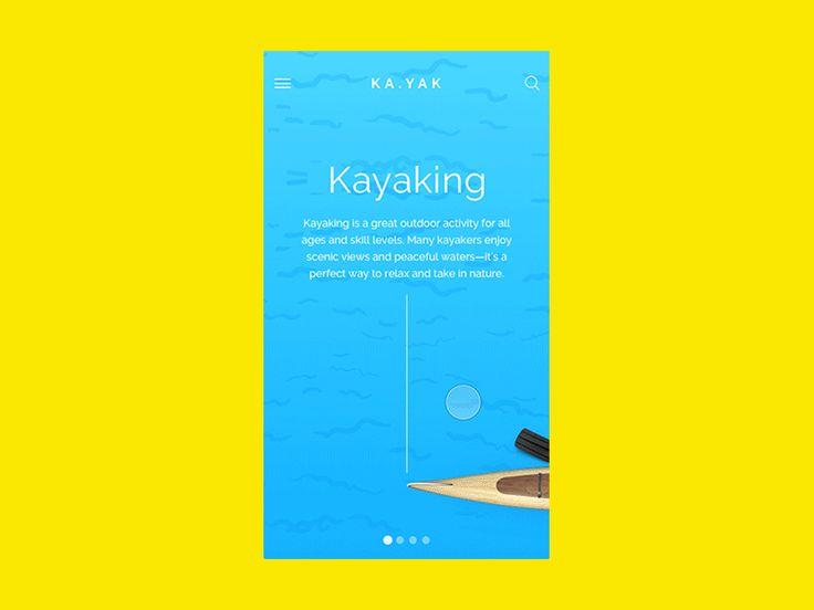 KA.YAK | iOS App