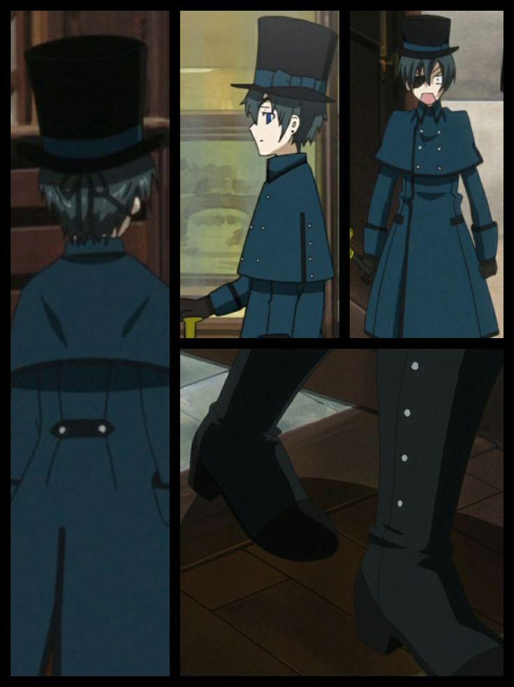 Kuroshitsuji ciel navy overcoat seasons episode 3