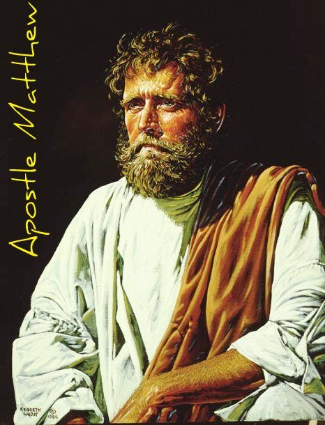 saint matthew essay These helpful study notes make explicit what st matthew often assumes  the  ignatius study bible also includes topical essays, word.
