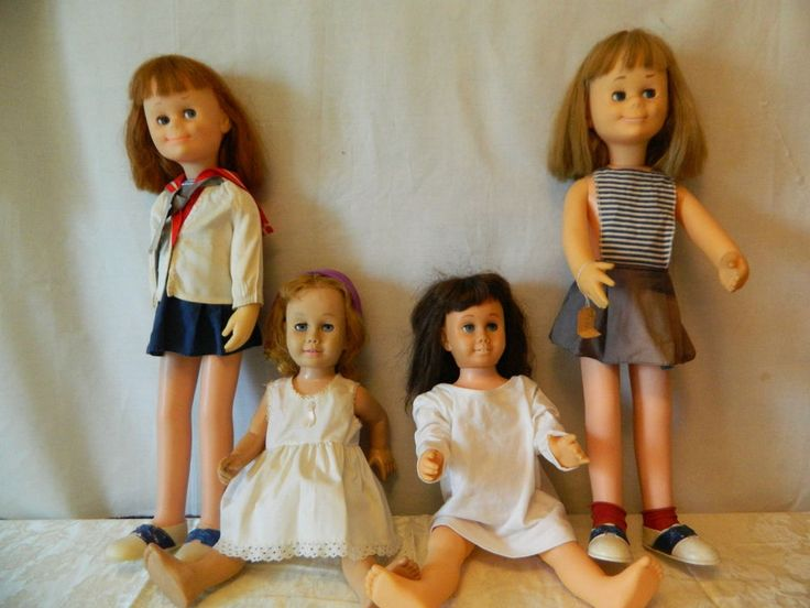 A Lot Of Four Vintage Mattel Charmin & Chatty Cathy Dolls For Parts or Repair | Dolls & Bears, Dolls, By Brand, Company, Character | eBay!
