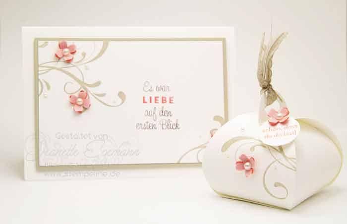 Stampin´ Up! Einladung und Gästegruß zur Hochzeit mit dem Stempelset Everything Eleanor