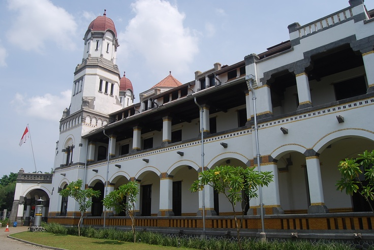 Lawang Sewu  The Dutch Heritage in Central Java Indonesia, known as a building with 1000 doors 1000 ghosts