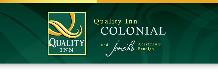 Quality Inn Colonial & Jonah's Apartment - Bendigo  483-485 High Street   Phone: 03 5447 0122