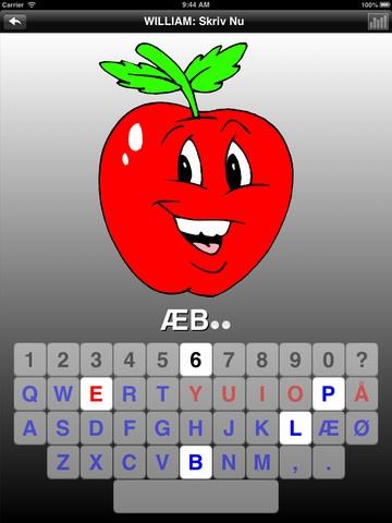 Stav dansk er en gratis dansk app,hvor man lærer hvor bogstaverne er på tastaturet og lærer at stave. Der er en købe version til 19 kr skriv nu og der er skriv mobil til iphone til 7 kr.