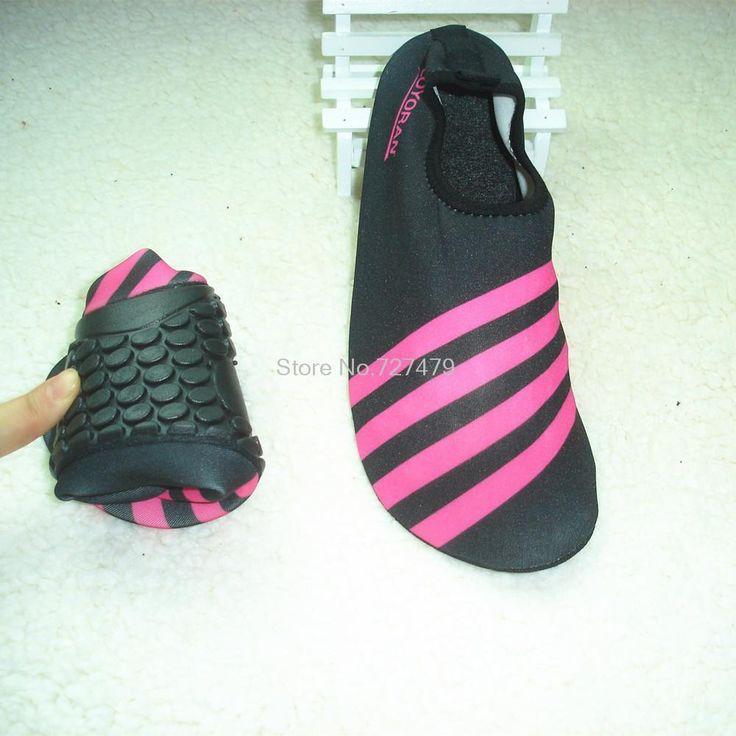Босиком водные лыжи бассейн обувь Сандалии женщин мягкие вставки кожи дайвинг мужчины болотных обувь удобные Сандалии женщин # B1298
