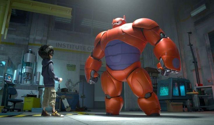 Big Hero 6 Official Trailer proximo filme de disney