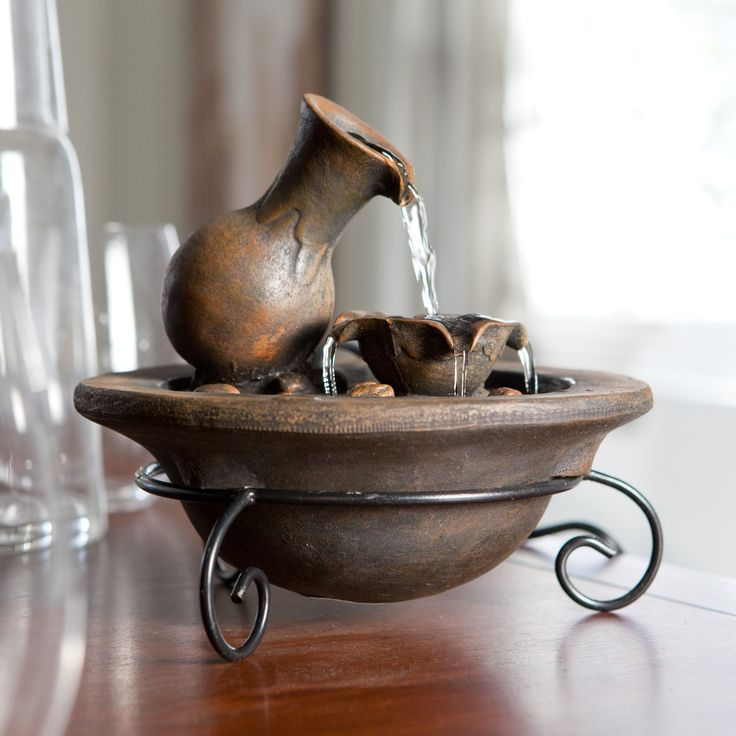 Best 25+ Tabletop fountain ideas on Pinterest | Fontana water ...