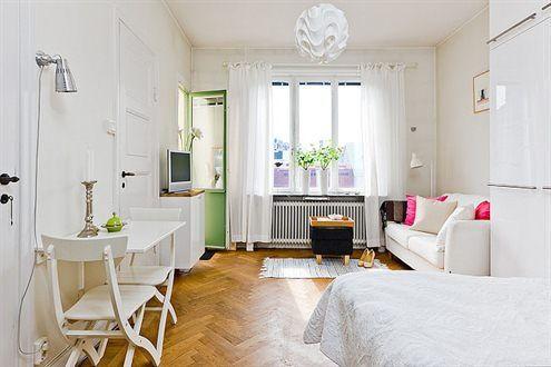 Como decorar un monoambiente de 20 metros cuadrados - Decorar salon cuadrado 20 metros ...