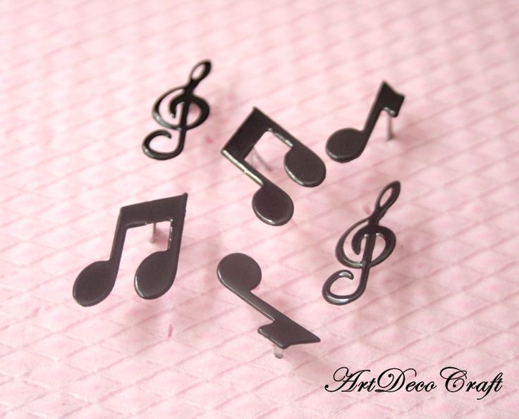 Cleme decorative - note muzicale (12 LEI la ArtDecoCraft.breslo.ro)