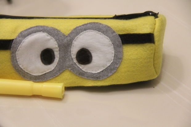 Picture of DIY: Minion Pencil Case