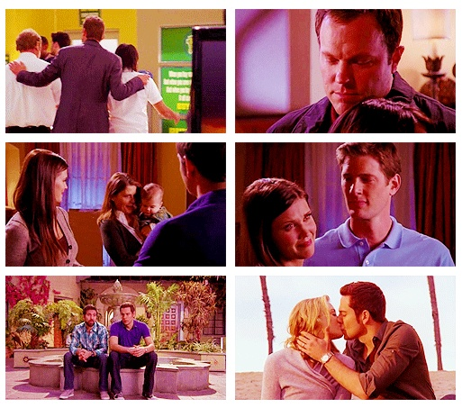 Everyone's lasts scene. Aaaand now I'm crying. <------CHUCK!!!! I loved that show!!! Why??? Why did it have to go???