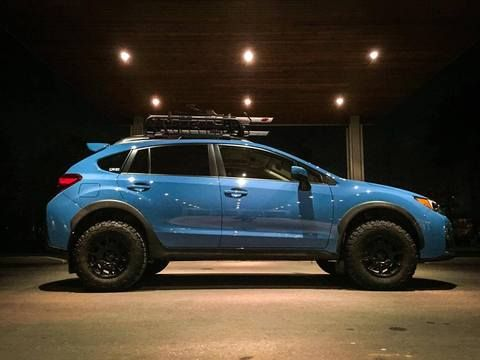 Improve the look and the ground clearance of your Subaru XV CROSSTREKwith the LP Aventure lift kit. The lift kit is designed and assembled in our workshop by o