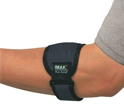 IMAK Elbow Band for Golfer and Tennis Elbow Pain