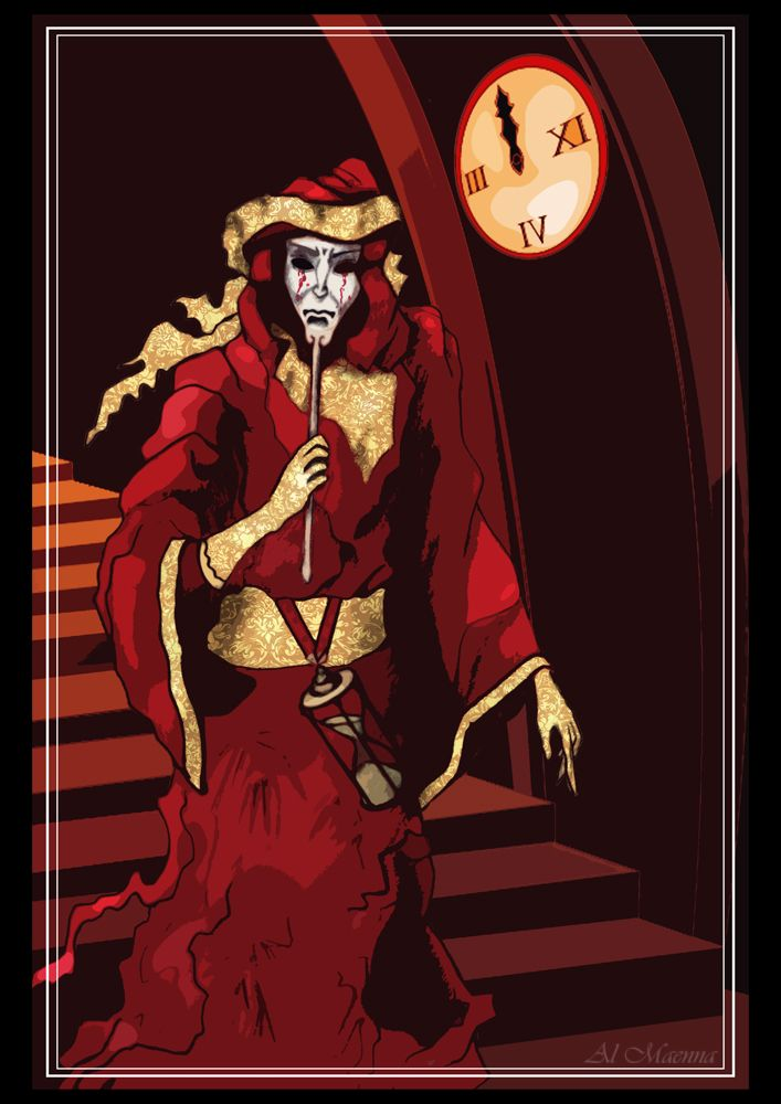 the masque of the red death Wendy pini's masque of the red death, its logos, characters, situations, all related indicia, and their distinctive likenesses are trademarks of warp graphics, inc.