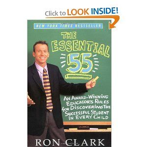 The Essential 55 (Book by Ron Clark)- this book inspired our class to do our Random Acts of Kindness Club. Pin now, read later!