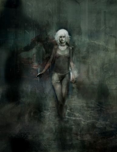 """""""Pris"""" --  painting by artist Christopher Shy."""