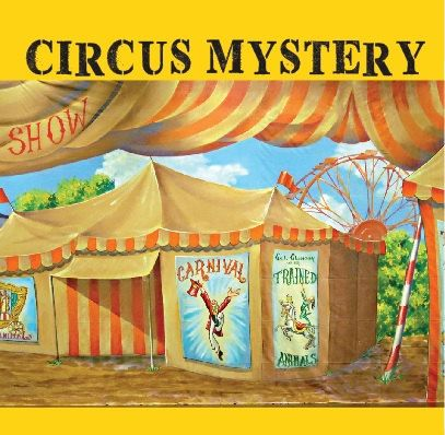 Circus Mystery Game kids birthday party game  by KidsMysteryGames