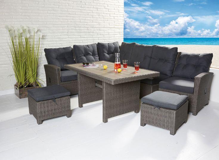 Sitzgruppe für Terrasse oder Wintergarten, Barcelona Dining