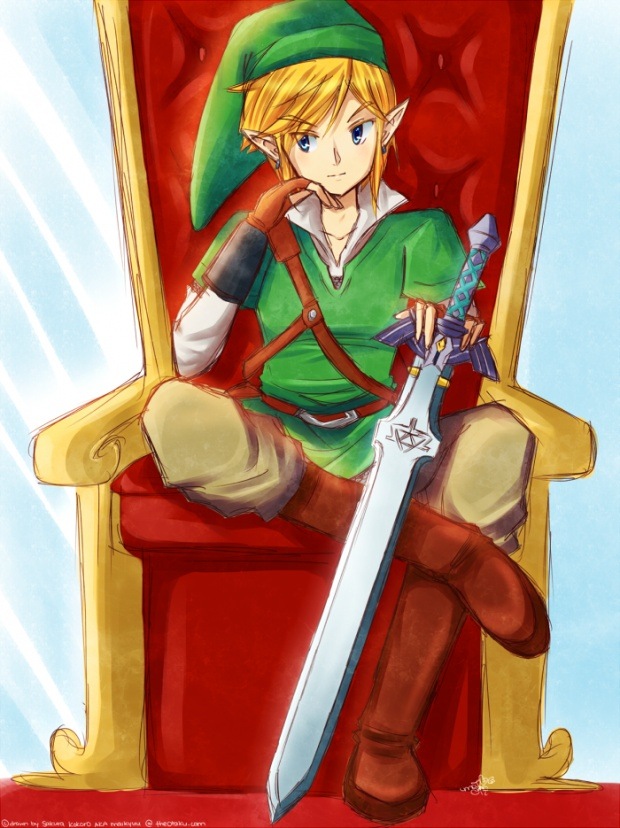 which games do you think link became the king of hyrule