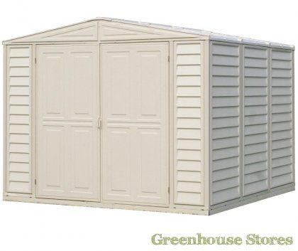 Duramax 8x10 Duramate Plastic Shed   http://www.greenhousestores.co.uk/Duramax-8x10-Duramate-Plastic-Shed.htm
