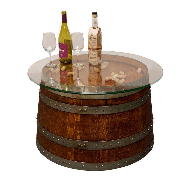 the 25+ best wine barrel coffee table ideas on pinterest   wine