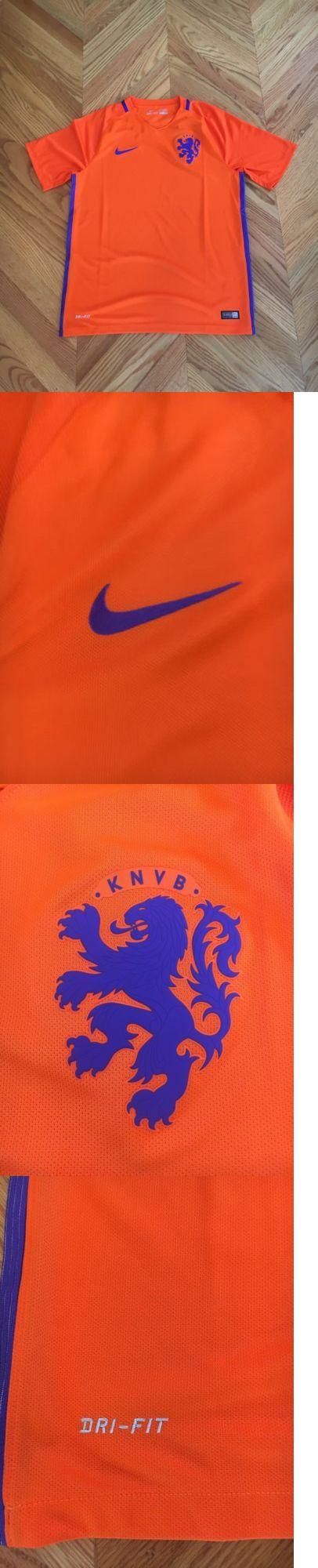 Soccer-National Teams 2891: Nike 2016 2017 Netherlands Soccer Football Kit Jersey Mens Medium Orange -> BUY IT NOW ONLY: $64.95 on eBay!