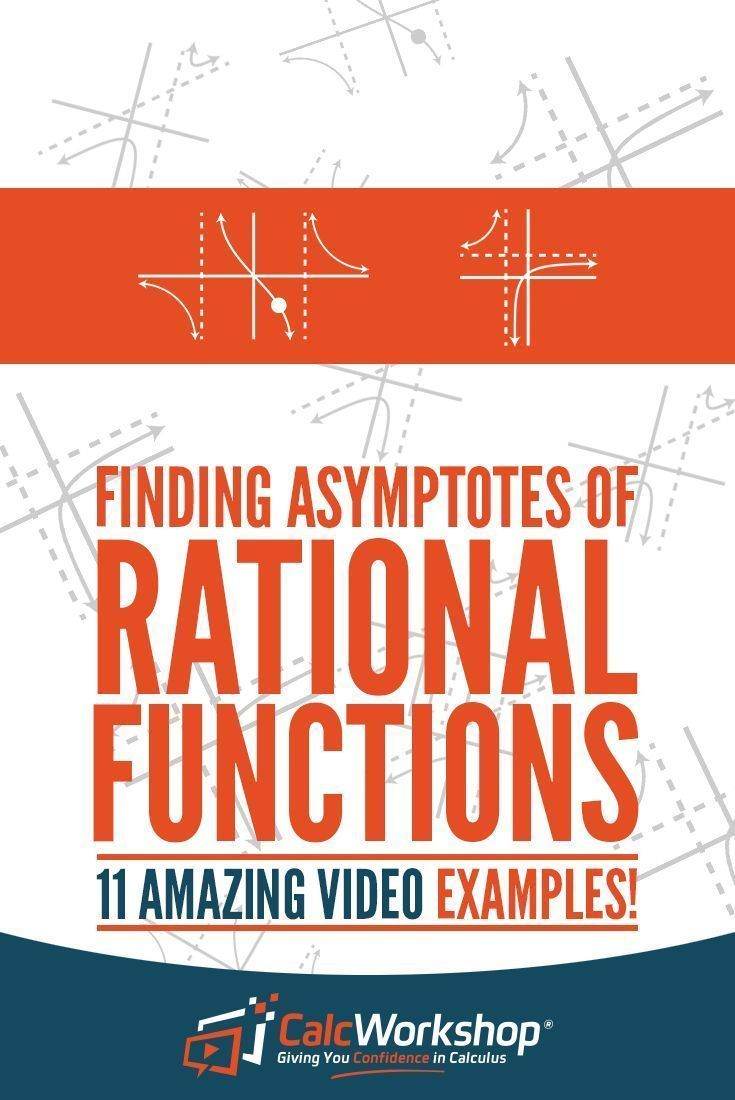 Identifying Asymptotes Powerful Video Lesson On How To Identify Vertical Asymptotes Horizontal Asymptote Rational Function Math Methods Rational Expressions
