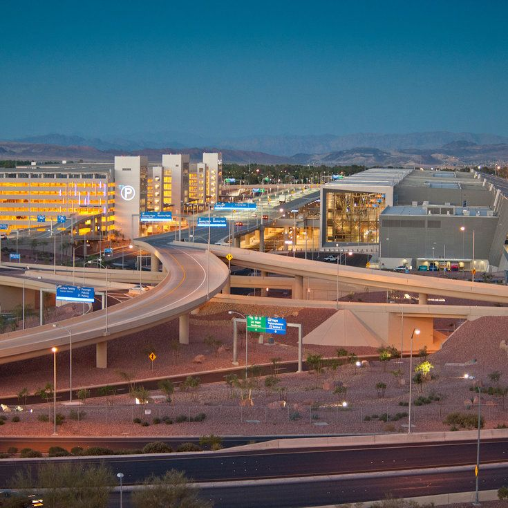 Las Vegas Airport Guide - Sunset