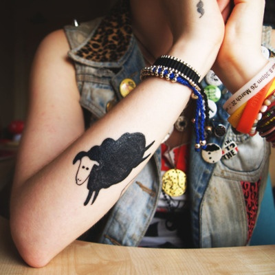 25 best ideas about black sheep tattoo on pinterest