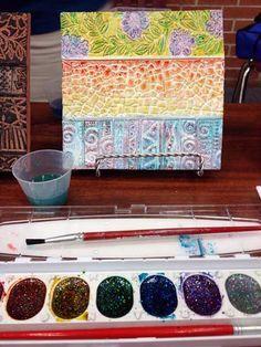 ArtSmudge - 5 different non-glaze color/finishing techniques for clay