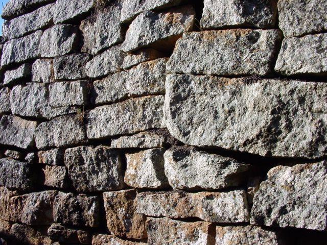 Rock wall at Greater Zimbabwe Ruins