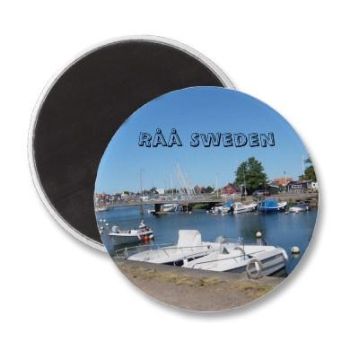 Råå Sweden fridge magnet $2.95