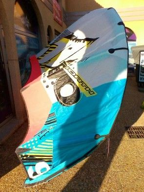 Aile North Kiteboarding evo 9 m² 2011 d'occasion nue