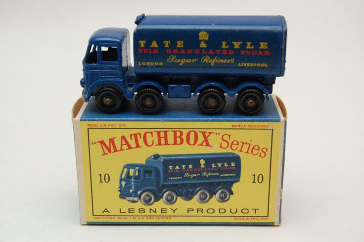 Matchbox Lesney #10 Foden Sugar Container Truck with Original Box Vintage Toy collection now for sale by RememberWhenToys on Etsy
