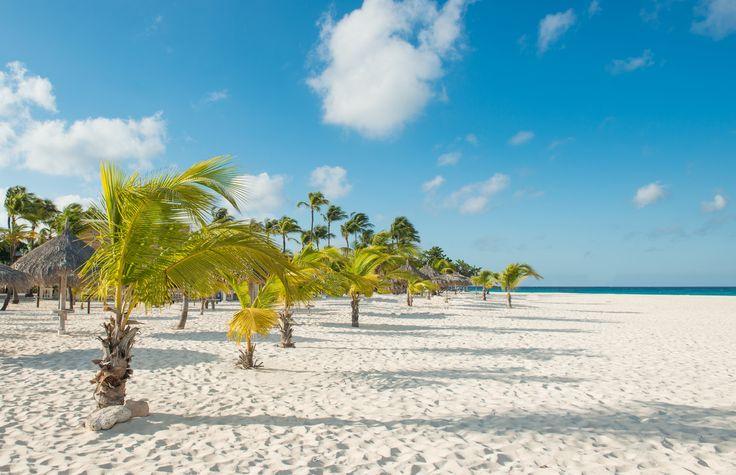 Widest beach on Aruba
