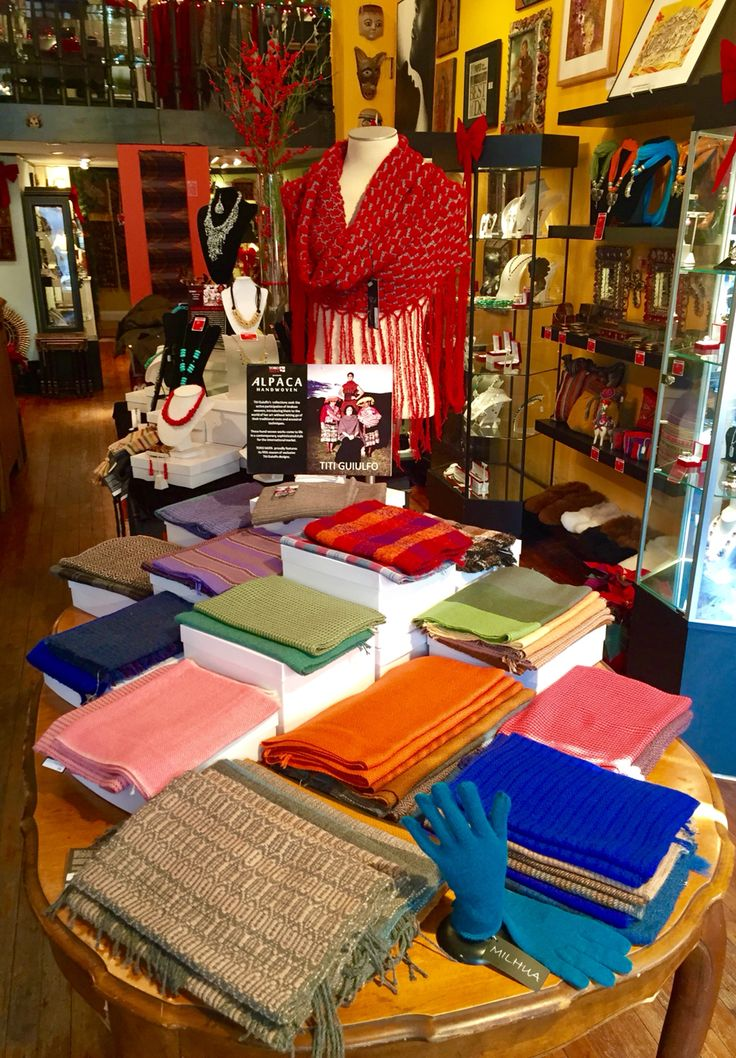 Today is Small Business Saturday! All 100% Peruvian Baby Alpaca Apparel 20% OFF - Enjoy Live music and complimentary wine!