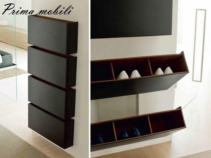 Итальянский обувной шкаф Pit Stop Porada купить в Москве в Prima mobili