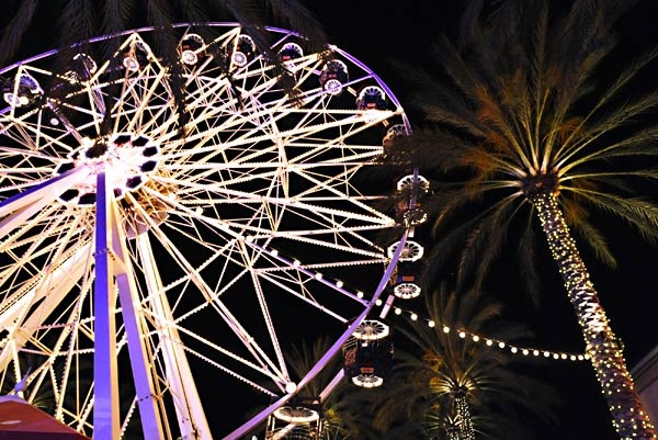 Orange County Great Park and Irvine Spectrum Center mall