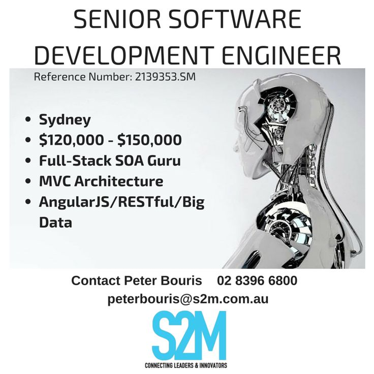 You have 8+ years of product-driven software development experience using a modern, object-oriented language. Memory-managed languages are best -- .e.g. C#, Java, Python, Ruby, etc. We do a lot of development in C#/.NET, but specific experience here is not required. Experience and interest in working in a variety of layers and technologies. AngularJS SPA development,external RESTful APIs, distributed  Big data processing experience  Soft skills  Solutions Design mindset