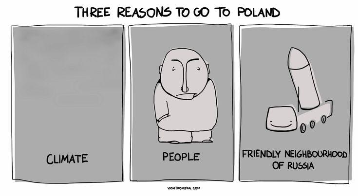 three reasons to go to Poland