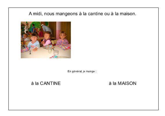 L'école de Léon - repas