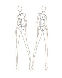 94 best fashion templates images on pinterest fashion female fashion croquis templates pronofoot35fo Choice Image