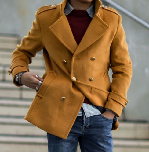 65 best Men's Peacoats - Dappergeddon! images on Pinterest | Men's ...