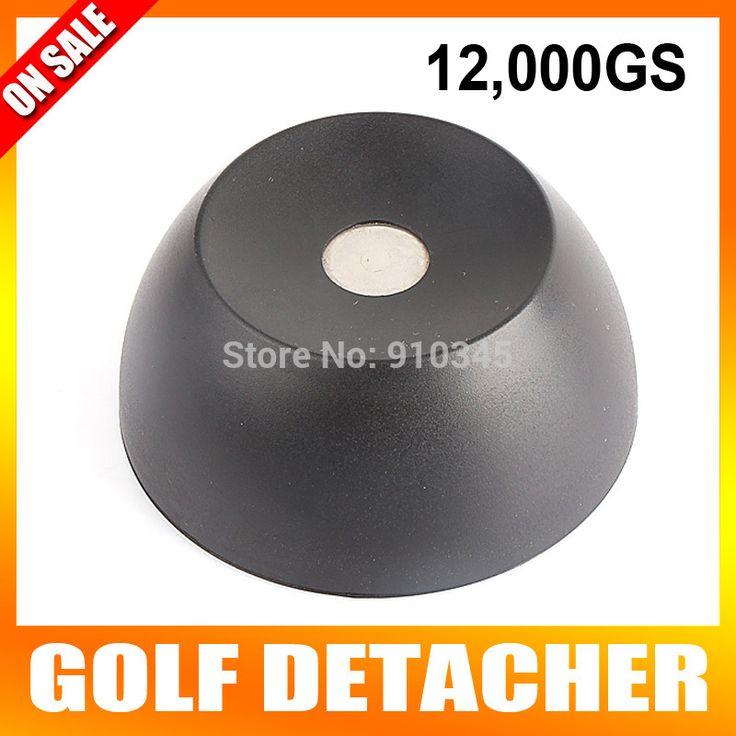 Nueva Llegada de Super Golf Tag Separador de los EAS Del Separador de Seguridad Tag Remover 12000GS Intensidad Magnética Material plástico de Color Negro