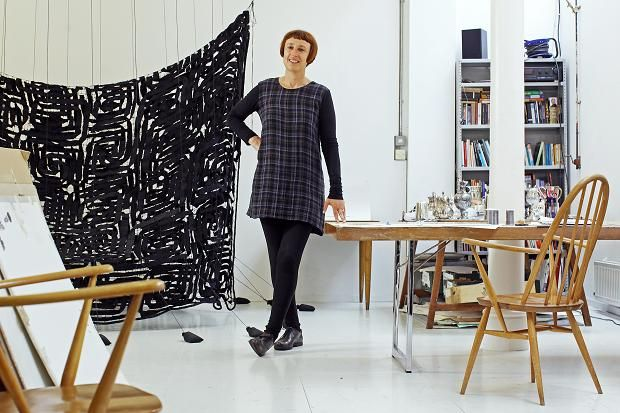 My space: Cornelia Parker in her East London studio