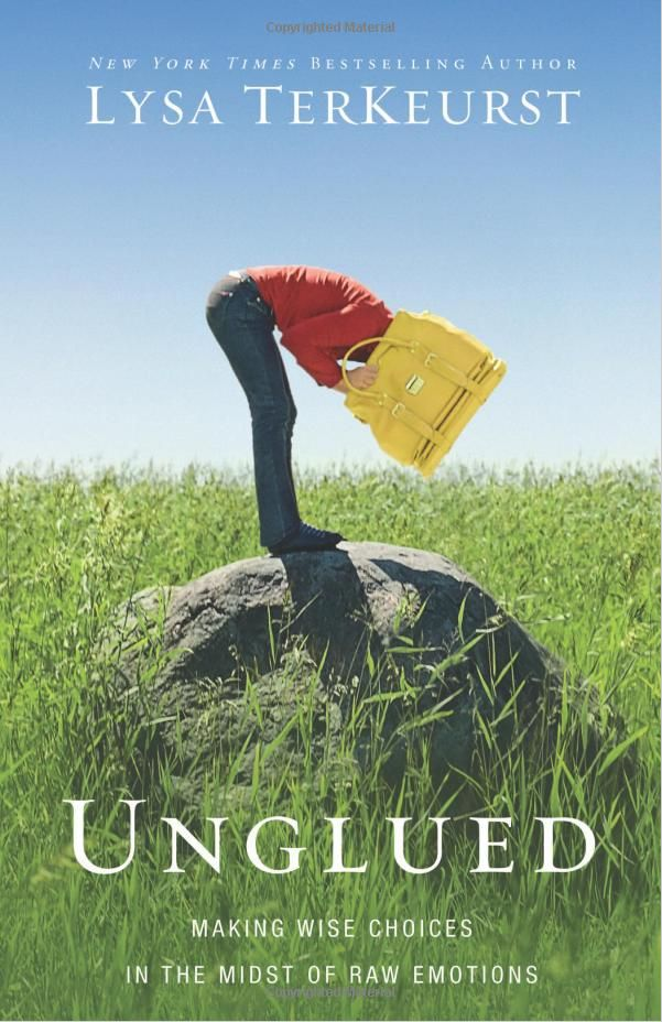 Unglued By Lysa TerKeurst – Book Review  Lysa not only addresses how we become unglued and how we respond, but she also gives guidance in how to have more control in those unglued moments of life.    I highly recommend this book!    Read Full review here- > http://unveiledwife.com/unglued-by-lysa-terkeurst-book-review/