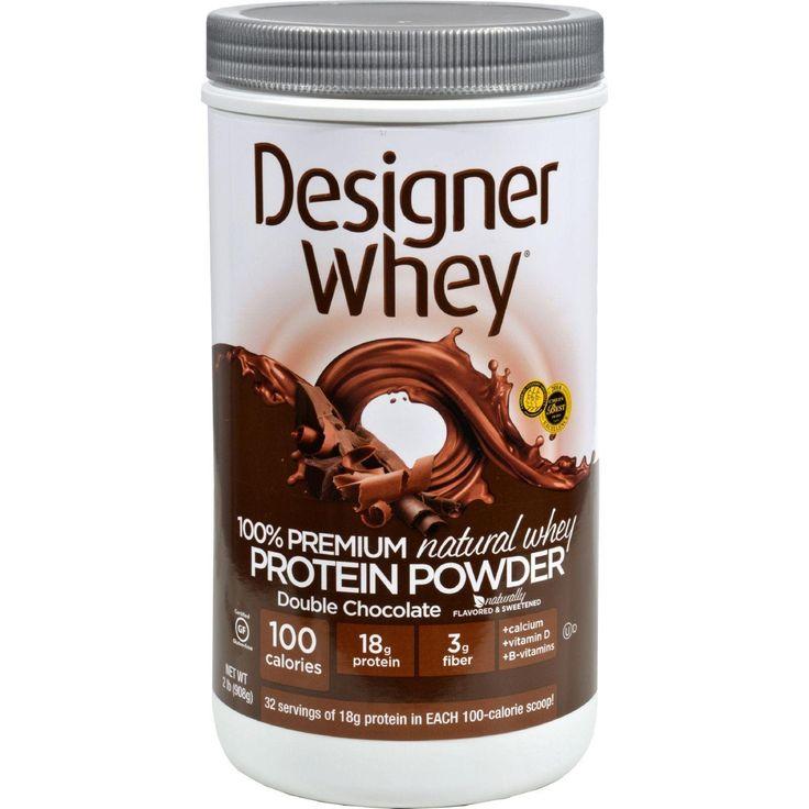 Designer Whey Protein Powder Double Chocolate - 2.1 Lbs