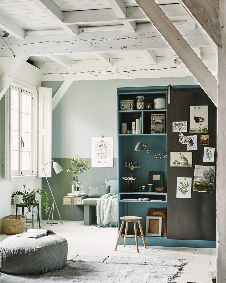 werkkamer groen | interior inspiration | @vtwonen